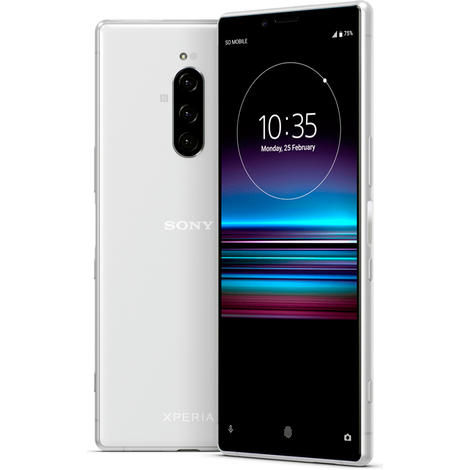 Смартфон Sony Xperia 1 6GB/128GB белый