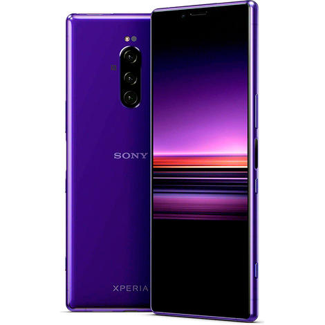 Смартфон Sony Xperia 1 6GB/128GB пурпурный