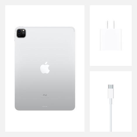 "Планшет Apple iPad Pro 11"" 2020 512GB MXDF2 серебристый"
